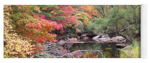 Tanasee Creek In The Fall Yoga Mat