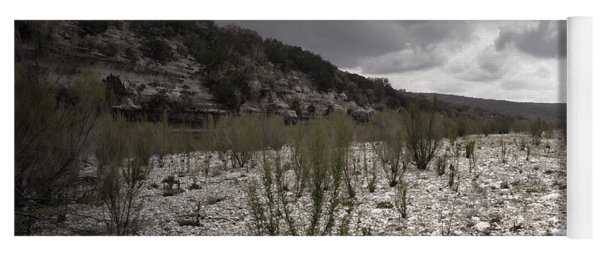 The Bank Of The Nueces River Yoga Mat