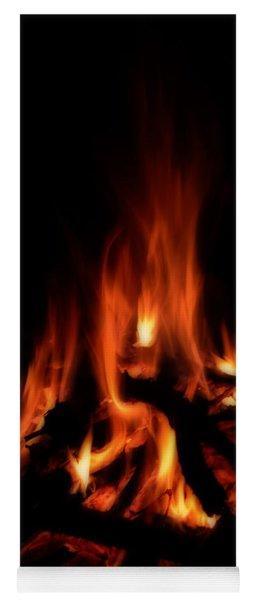 The Fire Yoga Mat