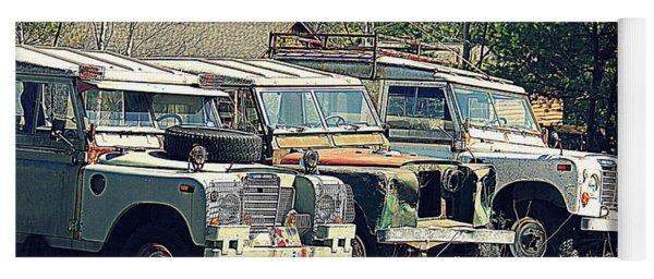 The Land Rover Graveyard Yoga Mat