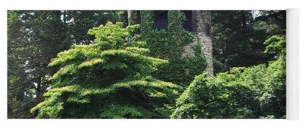 The Longwood Gardens Castle Yoga Mat