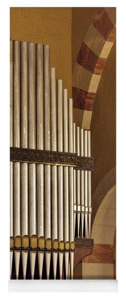 the Organ Augusta Victoria Jerusalem Yoga Mat