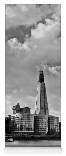 The Shard London Black And White Yoga Mat
