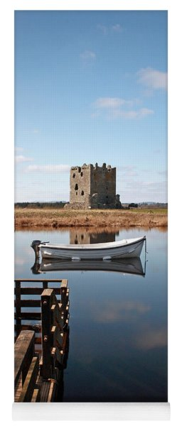 Threave Castle Reflection Yoga Mat