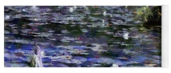 Torch River Water Lilies Ll Yoga Mat