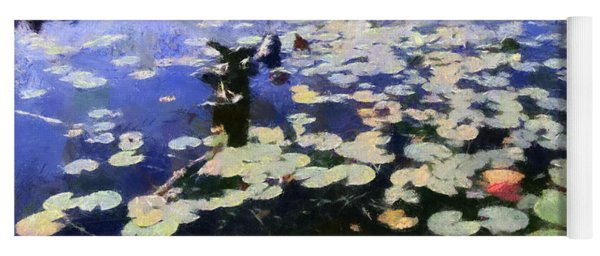 Torch River Water Lilies 3.0 Yoga Mat