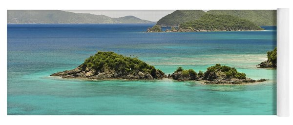Trunk Bay St John  Yoga Mat