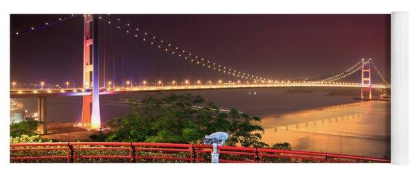 Tsing Ma Bridge Yoga Mat