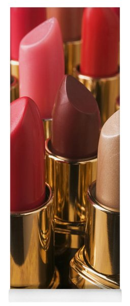 Tubes Of Lipstick Yoga Mat