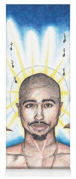 Tupac In Heaven Yoga Mat