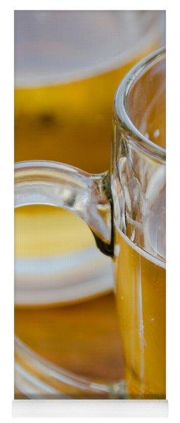 Two Glasses Of Beer Yoga Mat