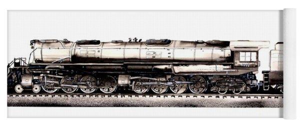 Union Pacific 4-8-8-4 Steam Engine Big Boy 4005 Yoga Mat