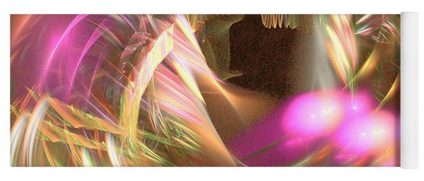 Untamed - Abstract Art Yoga Mat