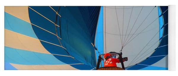 Up Into The Blue. Oshkosh 2012. Yoga Mat