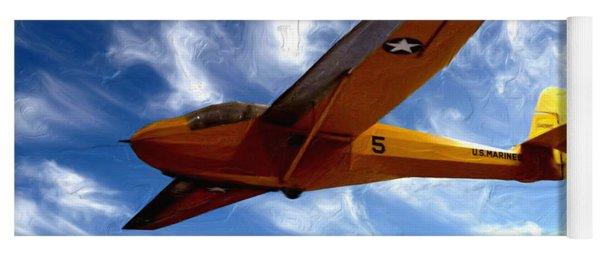 U.s. Marines Glider Yoga Mat
