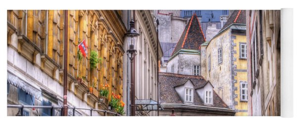 Vienna Cobblestone Alleys And Forgotten Streets Yoga Mat