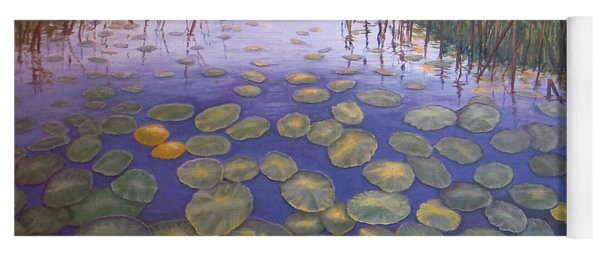 Waterlillies South Africa Yoga Mat