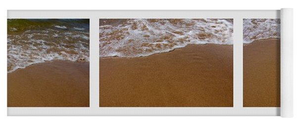 Waves Triptych Yoga Mat
