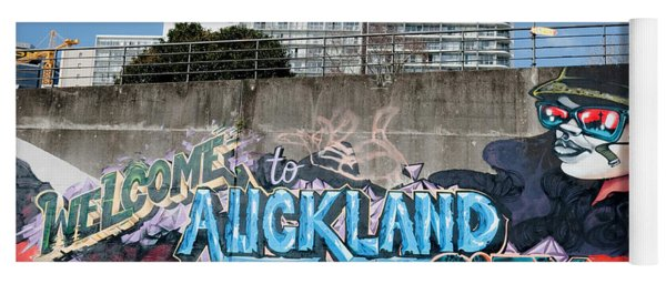 Welsome To Auckland City Yoga Mat