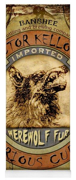 Werewolf Fur  Yoga Mat