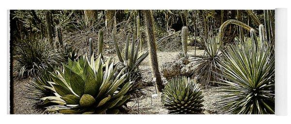 Where The Cacti Grow Yoga Mat