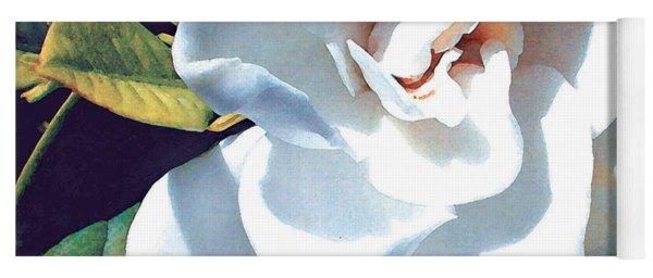 White Gardenia Yoga Mat
