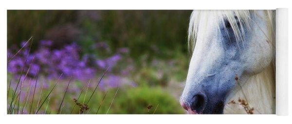 White Horse Yoga Mat