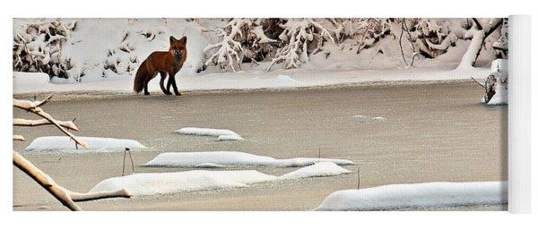 Winter Fox Yoga Mat