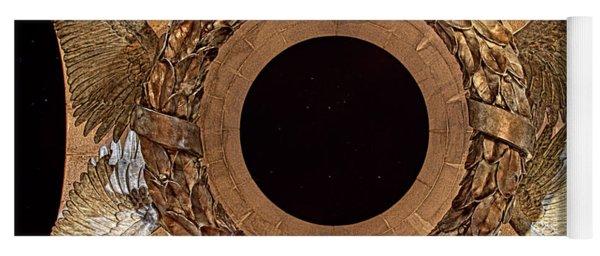 Ww II Memorial Victory Wreath Yoga Mat