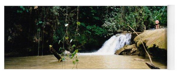 Ys Falls3 Jamaica Yoga Mat