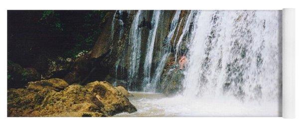 Ys Falls4 Jamaica Yoga Mat