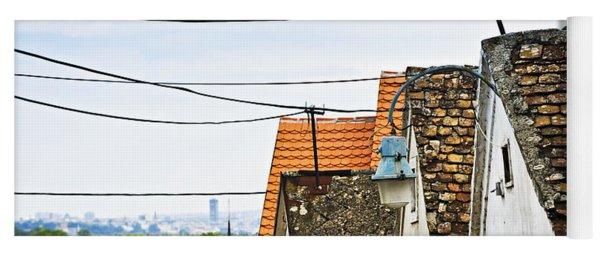 Zemun Rooftops In Belgrade Yoga Mat