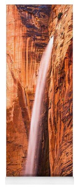 Zion Waterfall Yoga Mat