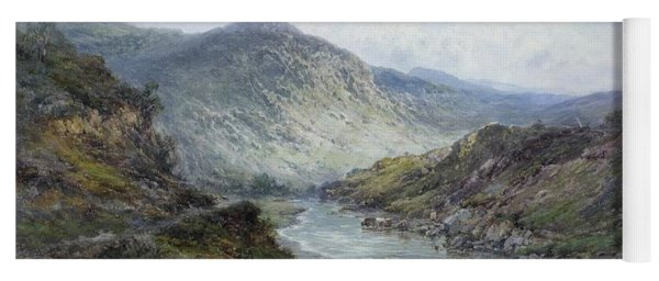 A Perthshire River Near Callender Yoga Mat