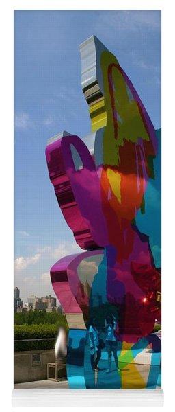 Abstract Sculpture Yoga Mat
