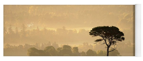 Autumn Morning, Strathglass Yoga Mat