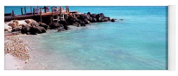 Eagle Beach Aruba Yoga Mat
