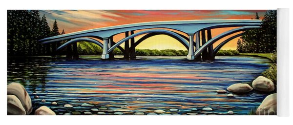 Folsom Bridge Yoga Mat