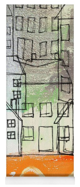 Houses By The River Yoga Mat