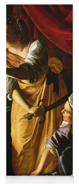 Judith And Maidservant With The Head Of Holofernes Yoga Mat