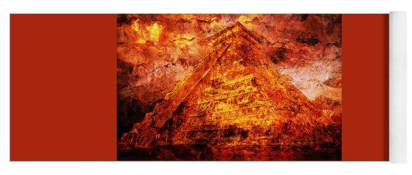 C H I C H E N  .  I T Z A .  Pyramid Yoga Mat