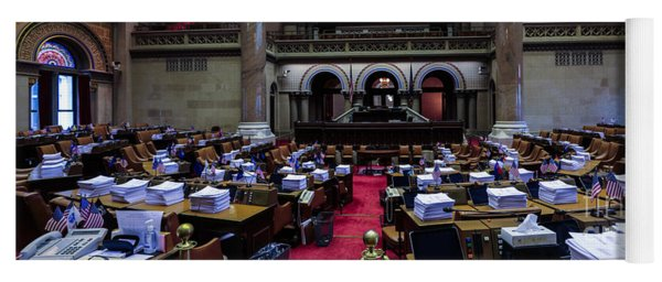 New York State Assembly Chamber Yoga Mat
