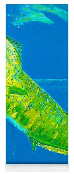 Prized Dolphin Painting Yoga Mat