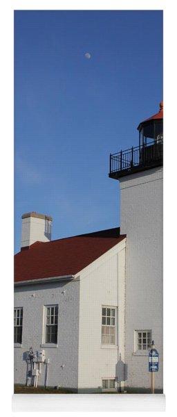 Sand Point Lighthouse Escanaba Yoga Mat