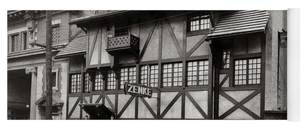 Scranton Pa Zenke's Alt Heidelberg Restaurant Early 1900s Yoga Mat