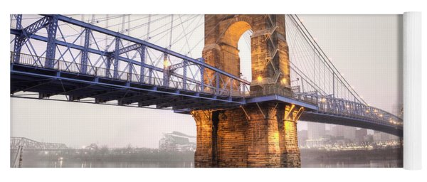 The Roebling Bridge Yoga Mat