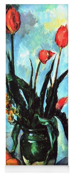 Tulips In A Vase Yoga Mat