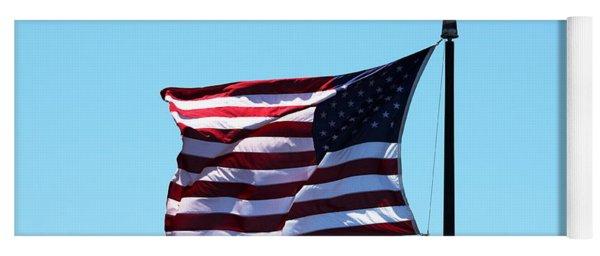 Usa Flag Yoga Mat