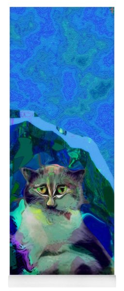 007 The Under Covers Cat Yoga Mat