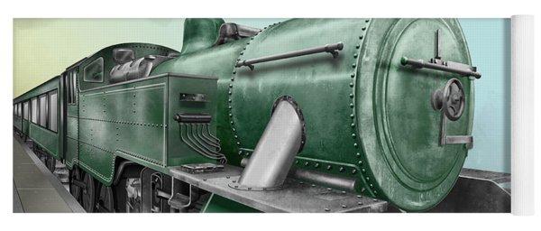 1940's Steam Train Yoga Mat